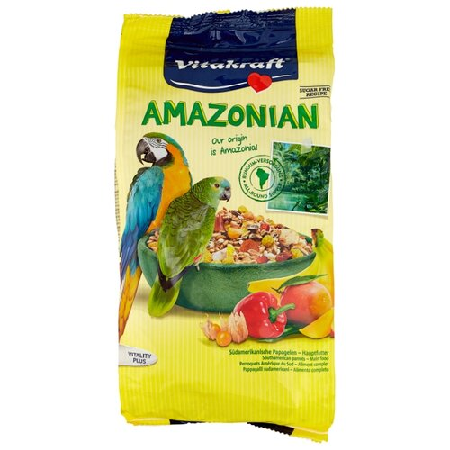 Vitakraft Корм Amazonian для крупных попугаев 750 г