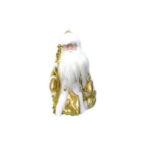 Фигурка Новогодняя Сказка Дед мороз 30 см (973523) золотой фигурки magic time фигурка новогодняя дед мороз с зайчиком 75531