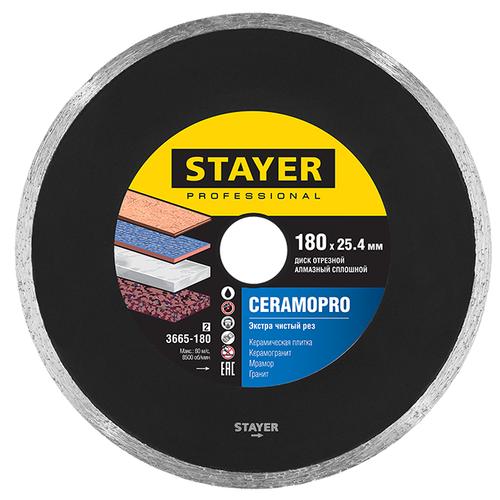 Диск алмазный отрезной STAYER Professional 3665-180_z02, 180 мм 1 шт.