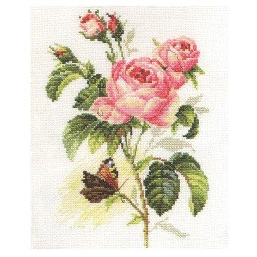 Купить 2-13 Набор для вышивания АЛИСА 'Роза и бабочка' 17*25см, Алиса, Наборы для вышивания