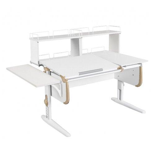 Стол ДЭМИ СУТ-25-02Д2 145x82 см белый/бежевый/белый стол дэми сут 25 02д2 145x82 см белый зеленый бежевый