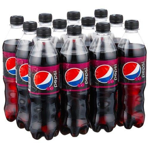 Газированный напиток Pepsi Wild Cherry, 0.5 л, 12 шт.