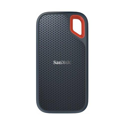 Фото - Внешний SSD SanDisk Extreme Portable SSD 500 ГБ, черный внешний ssd hp p700 512gb 5ms29aa 512 гб черный