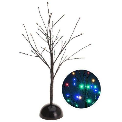Светящееся деревце ОБИТЕЛЬ СВЕТЛЯЧКОВ, 32 разноцветных LED-огня, 40 см, батарейки, Koopman International AXZ201040