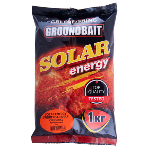 Прикормочная смесь Energy Solar Energy Универсальная Original оригинальная 1000 г