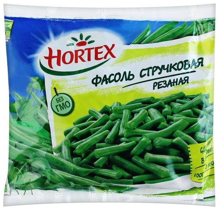 HORTEX Замороженная фасоль стручковая резаная 400 г