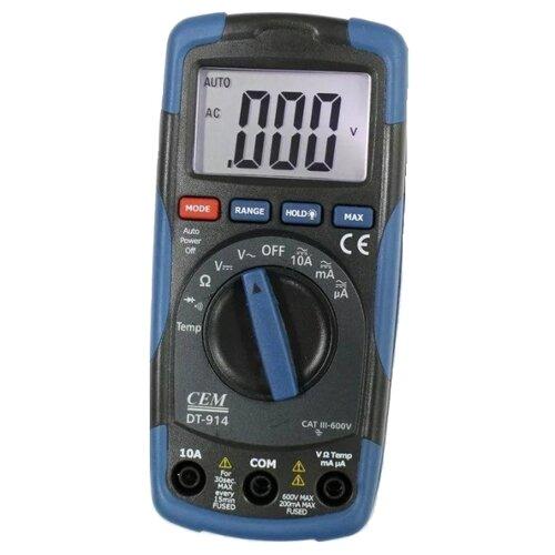 Мультиметр цифровой CEM DT-914 мультиметр cem dt 61