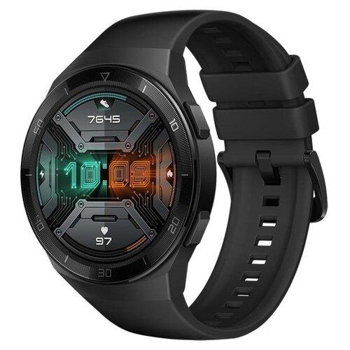 Умные часы c GPS HUAWEI Watch GT 2e black умные часы c gps huawei watch gt classic коричневый