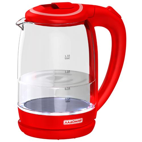 Чайник Ладомир АА119, красный