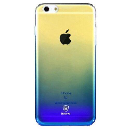 Фото - Чехол-накладка Baseus Glaze Case для Apple iPhone 6 Plus/iPhone 6S Plus blue чехол накладка baseus thin case для apple iphone x black