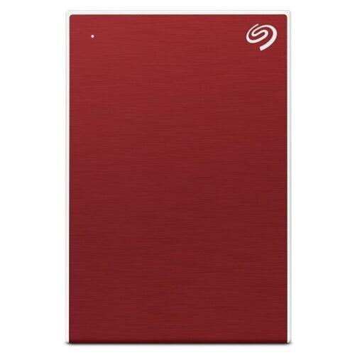 Фото - Внешний HDD Seagate One Touch 1 ТБ, красный внешний hdd seagate original one touch 1tb stkb1000401 серебристый