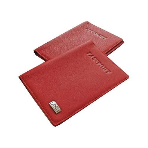 Обложка для паспорта Tony Perotti Contatto, женская, натуральная кожа, красный 80