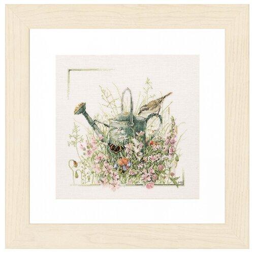Купить Lanarte Набор для вышивания Лейка в цветах 36 x 36 см (PN-0007950), Наборы для вышивания