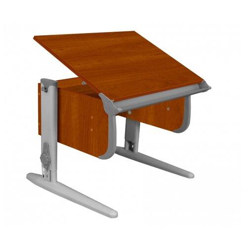Купить Стол ДЭМИ СУТ-24 75x55 см яблоня/серый/серый, Парты и столы