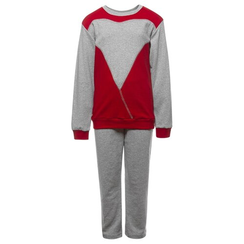 Спортивный костюм M&D размер 116, красный