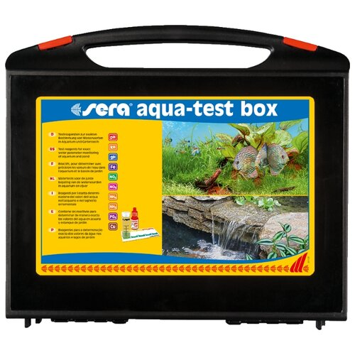 Sera Aqua-test box (Cu) тесты для аквариумной воды, набор