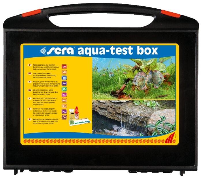 Sera Aqua-test box (Cu) тесты для аквариумной воды (набор)