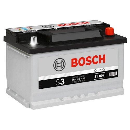 Автомобильный аккумулятор Bosch S3 007 (0 092 S30 070)
