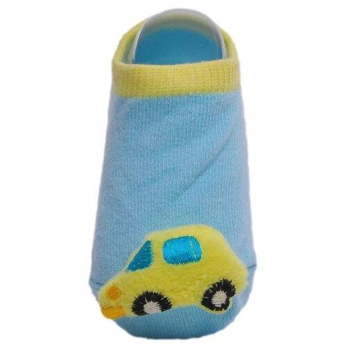Купить Носки Lansa размер 18-20, голубой/желтый