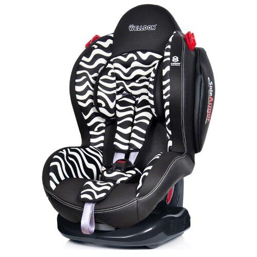 цена на Автокресло группа 1/2 (9-25 кг) Welldon Smart Sport, zebra