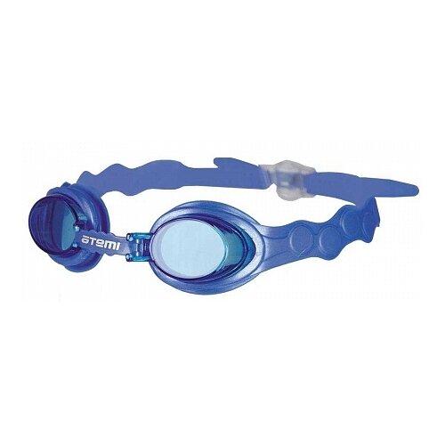 Фото - Очки для плавания ATEMI S401/S402/S403 синий очки маска для плавания atemi z401 z402 синий серый