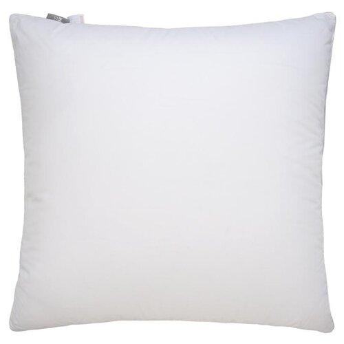 Подушка Royal, без рисунка, белый ; Размер: 70 х 70