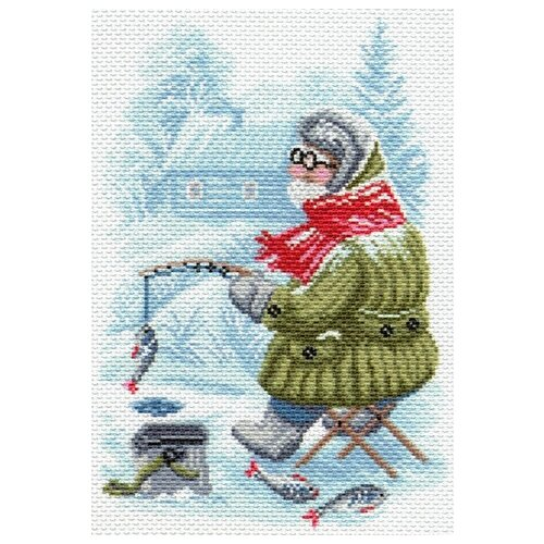 Купить Рыбак Рисунок на канве 28/37 28х37 (20х29) Матренин Посад 1673, Матрёнин Посад, Канва