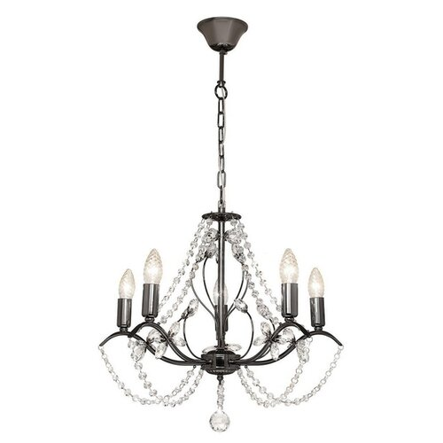 Люстра Silver Light Antoinette Black 726.59.5, E14, 300 Вт бра silver light 726 48 1 antoinette