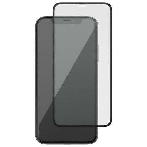 Защитное стекло uBear Nano Shield Premium Screen Protector для Apple iPhone Xr черный стекло защитное rockmax iphone xr 3d черная рамка