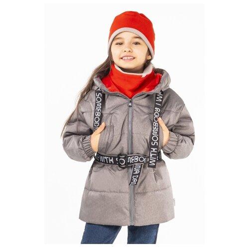 Куртка BOOM! by Orby 100005 размер 134, серый куртка orby
