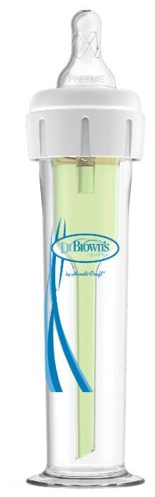 Dr. Brown's Бутылочка полипропиленовая с узким горлом для недоношенных детей Accufeed, 60 мл с рождения