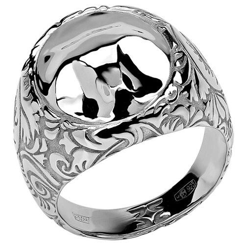 Эстет Кольцо коллекции Totem Fox/Лиса из серебра 01К058387, размер 18 кольцо коллекции totem fox лиса из серебра