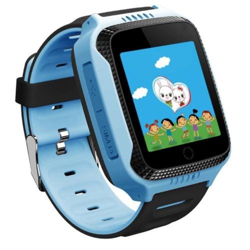 Детские умные часы Beverni T7, голубой/черный