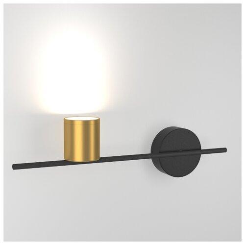 Интерьерная подсветка Elektrostandard Acru LED черный/золото (MRL LED 1019)