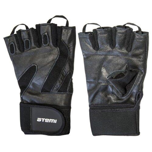 Перчатки ATEMI AFG05 черный M по цене 706