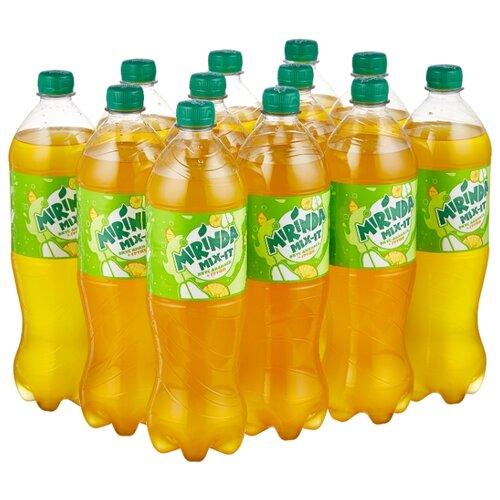 Газированный напиток Mirinda Mix-It ананас-груша, 1 л, 12 шт.