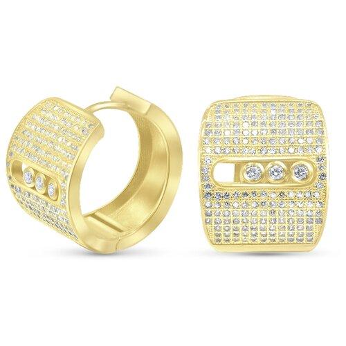 Silver WINGS Серьги из серебра куб.цирконий 22set6923gp-113