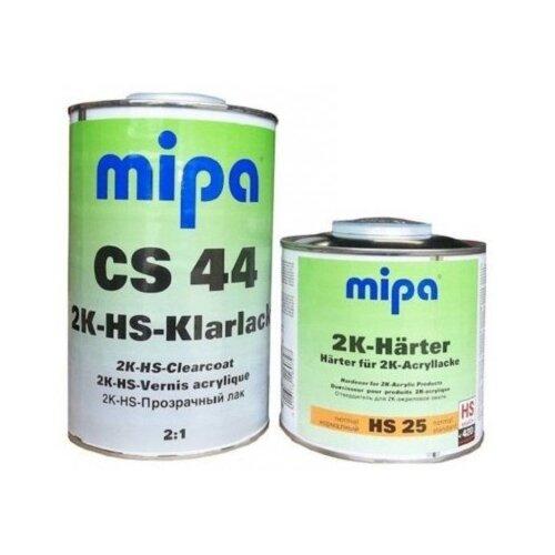 Комплект (автомобильный лак, отвердитель для лака) MIPA 2K HS CS 44 + HS 25 2 мл