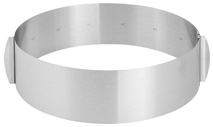 Купить Форма круг для торта регулируемая 15-30 см Elan Gallery по низкой цене с доставкой из Яндекс.Маркета