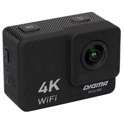 Фото - Экшн-камера DIGMA DiCam 800 черный мини кинотеатр digma dimagic kids plus battery [dm003]