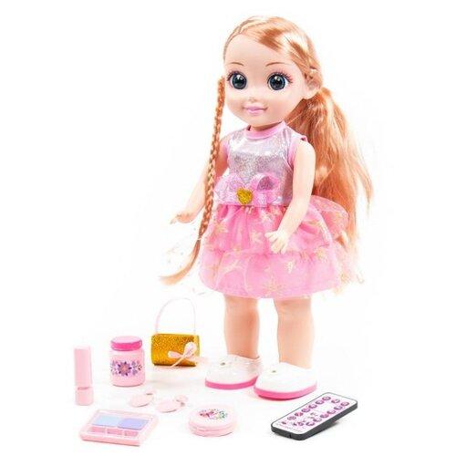 Купить Интерактивная кукла Полесье Милана в салоне красоты, 37 см, 79282, Куклы и пупсы