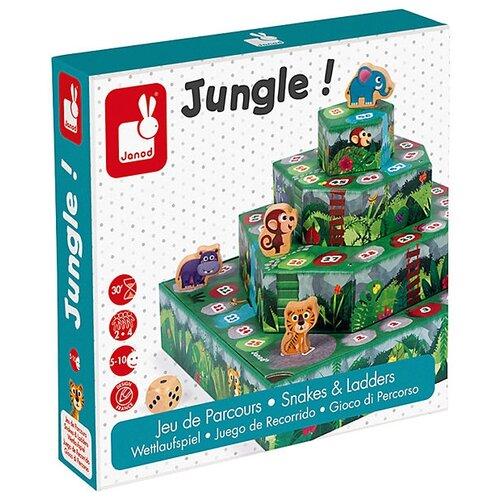 Фото - Настольная игра Janod Джунгли! настольные игры janod игра настольная шахматы луна парк