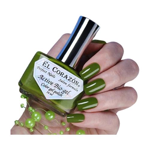 Гель El Corazon Active Bio-gel polish Cream, 16 мл, 423/350 chi luxury black seed oil curl defining cream gel