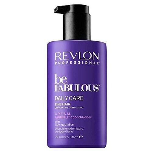 Revlon Professional кондиционер для для тонких волос волос Be Fabulous Daily Care Fine Hair lightweight, 750 мл revlon кондиционер для тонких волос be fabulous 750 мл