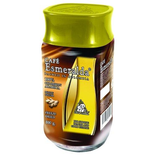 Кофе растворимый Cafe Esmeralda Натуральный имбирь, 100 г имбирь натуральный gold kili пакетированный 80 г 20 саше