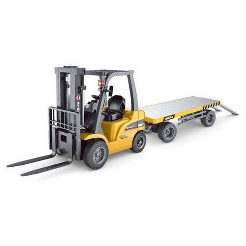 Купить Погрузчик HuiNa HN1576 1:10 51 см желтый/черный, Радиоуправляемые игрушки