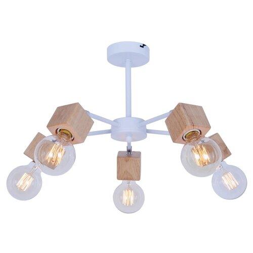 Люстра Toplight Alisha TL1197X-05AB, E14, 300 Вт, кол-во ламп: 5 шт., цвет арматуры: бежевый люстра toplight tl1197x 05ab alisha