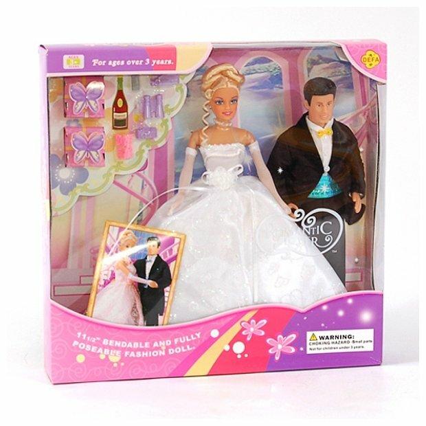 Набор кукол Defa Lucy Жених и невеста 29 см 20991