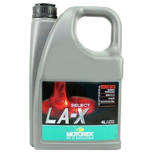 Фото - Синтетическое моторное масло Motorex Select LA-X 5W-30 4 л синтетическое моторное масло motorex power synt 4t 5w 40 4 л