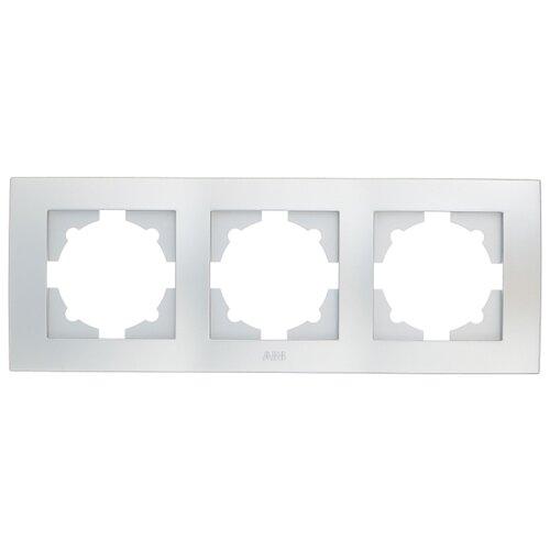 цена на Рамка 3п ABB Cosmo 612-011000-227, алюминиевый
